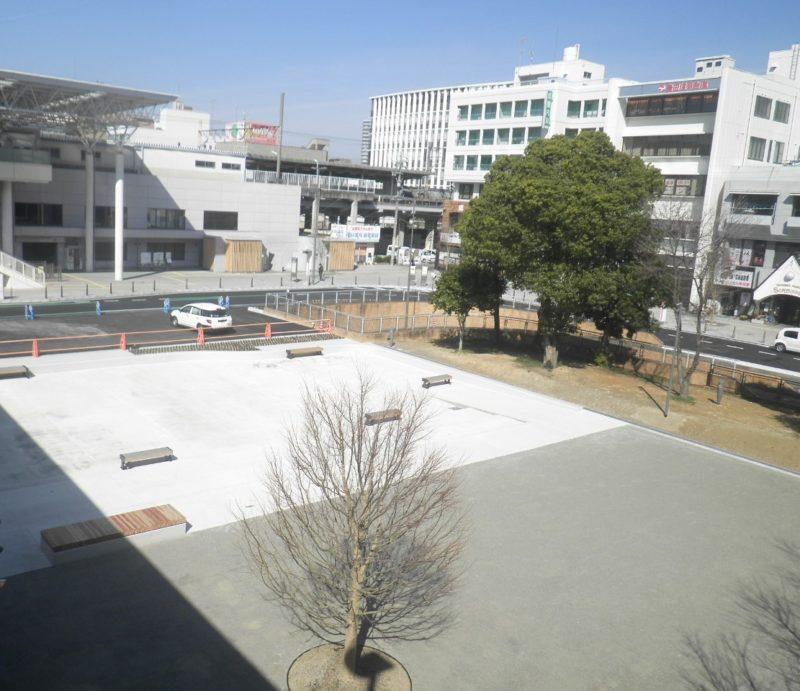 駅前広場整備工事